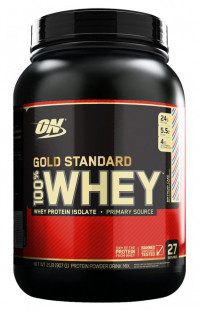 Протеин Optimum Nutrition 100 % Whey protein Gold standard 5 lb (2270 г)